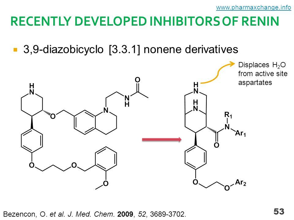 53  3,9-diazobicyclo [3.3.1] nonene derivatives Bezencon, O.