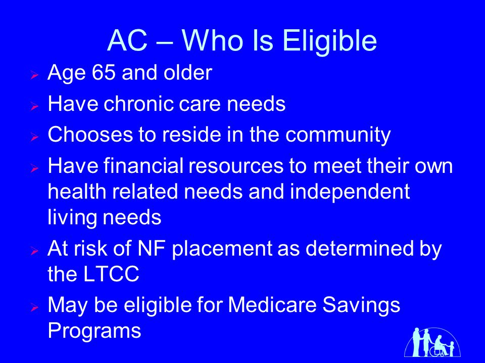 Financial Eligibility for AC (Married)  Line I is multiplied by 4.5 to determine the income available for 135 days of nursing home care and the result is placed in Line J.
