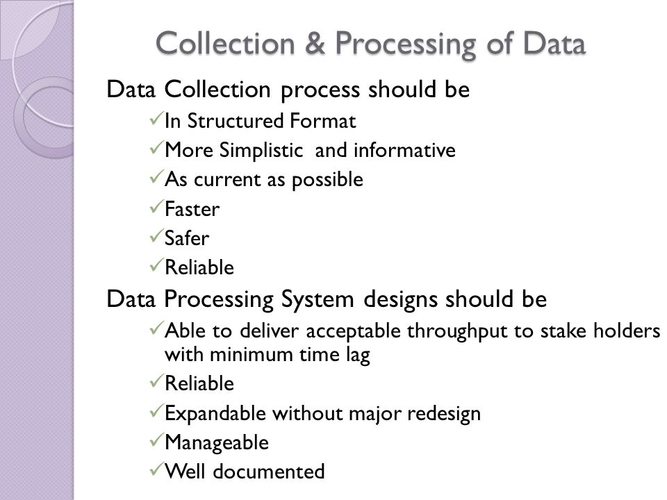 Data & NHB  Different Types of Data Collected by NHB  Sources of collection of such data  Periodicity of data collected  Need for data collection by NHB  Use of data by NHB