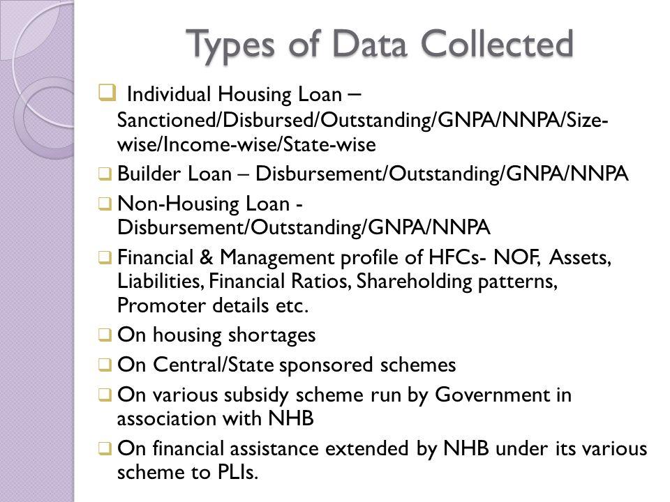 Housing Loan disbursements trend in HFCs