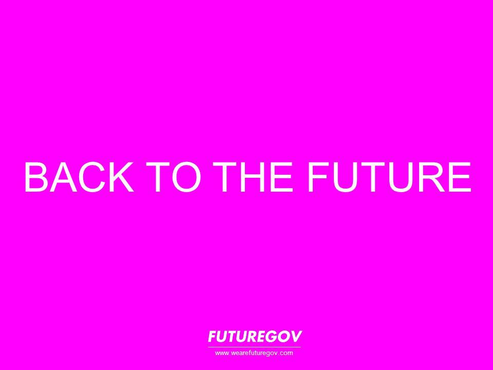 BACK TO THE FUTURE www.wearefuturegov.com