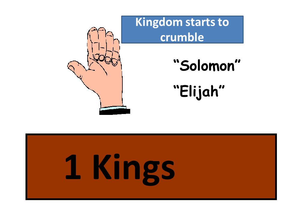 Solomon Elijah Kingdom starts to crumble