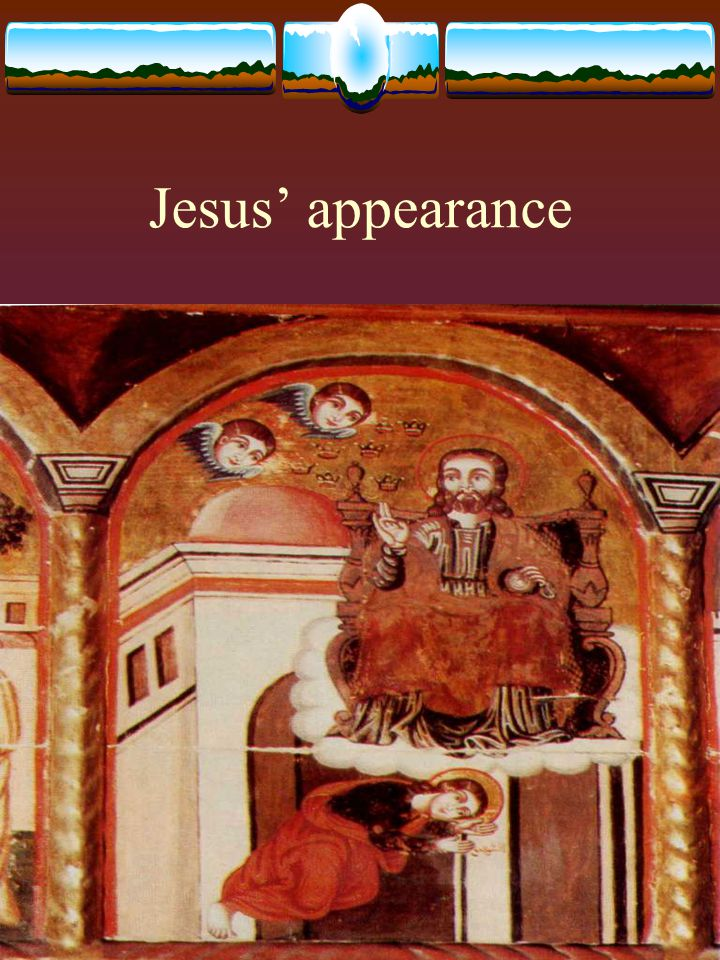 Jesus' appearance