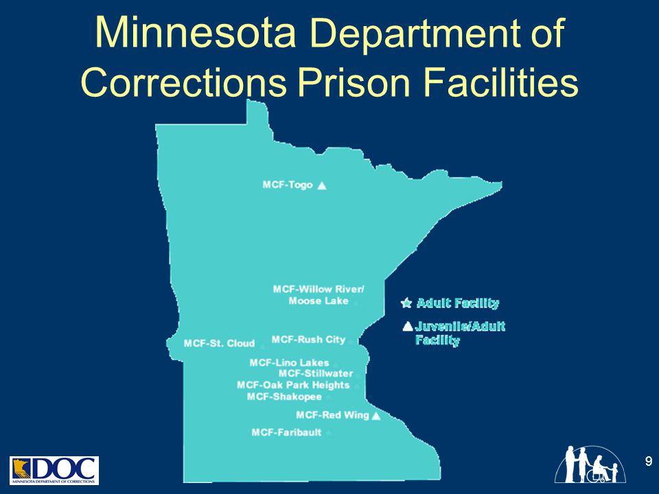 Minnesota Department of Corrections Prison Facilities 9