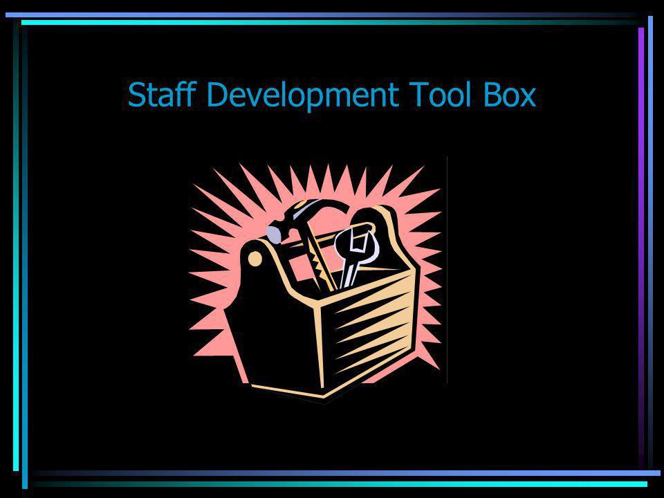 Staff Development Tool Box