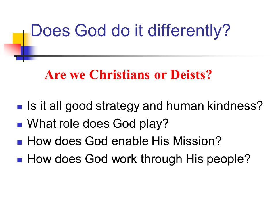 The Mission Objectives being pursued + Conditions and demands of context = Shape and Mode of Church It looks so simple .