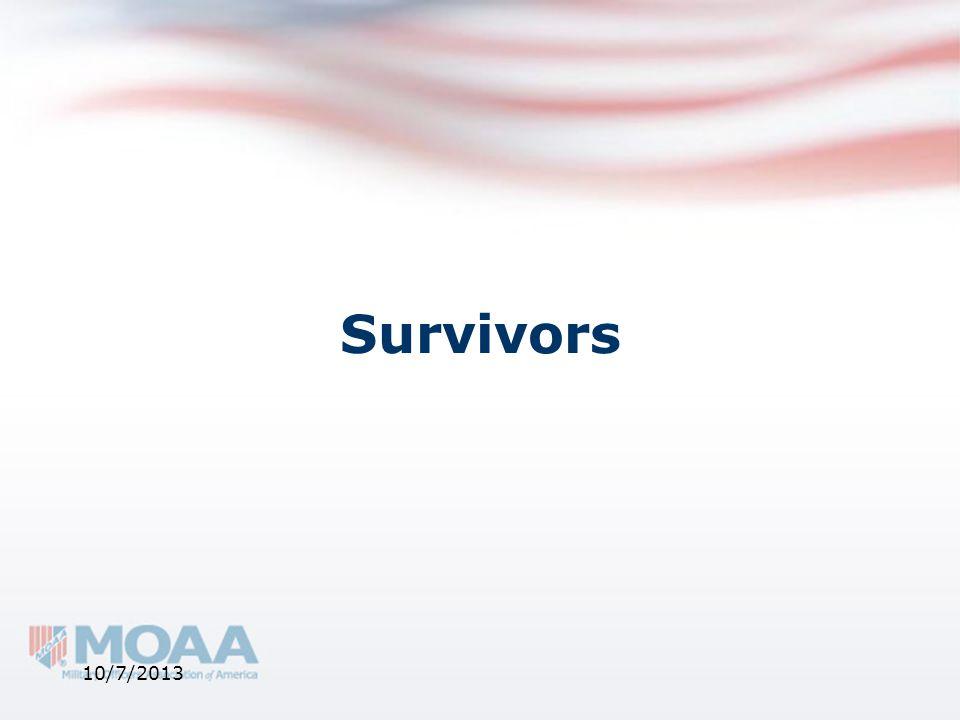 Survivors 10/7/2013