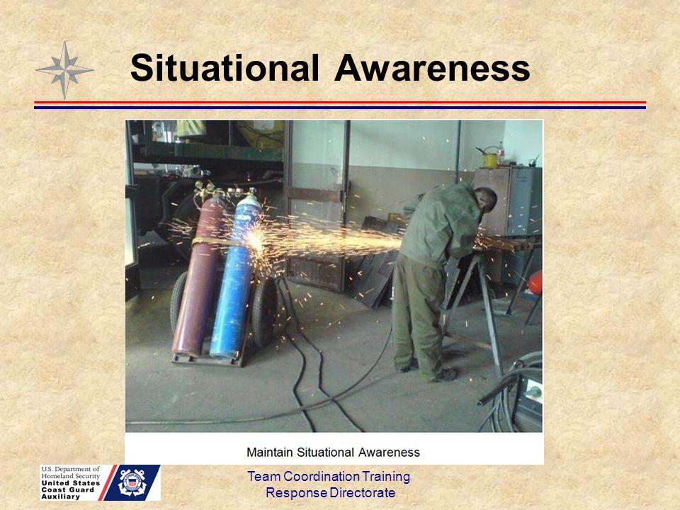 Situational Awareness Team Coordination Training Response Directorate