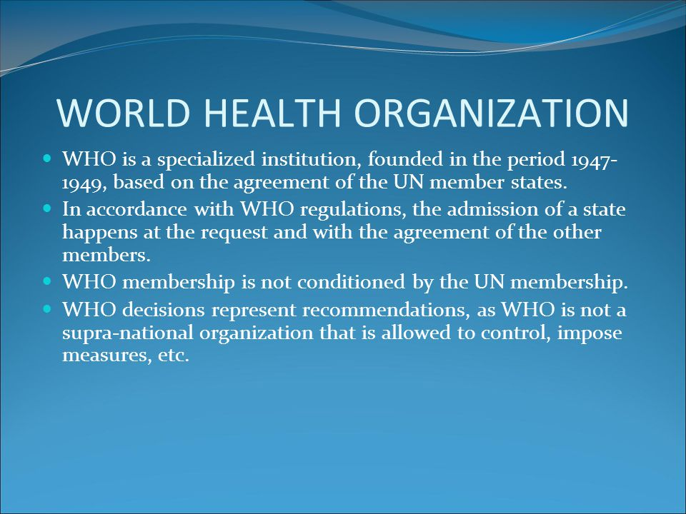The principles of the European Health for all strategy (1) 1. Health for all involves equity.
