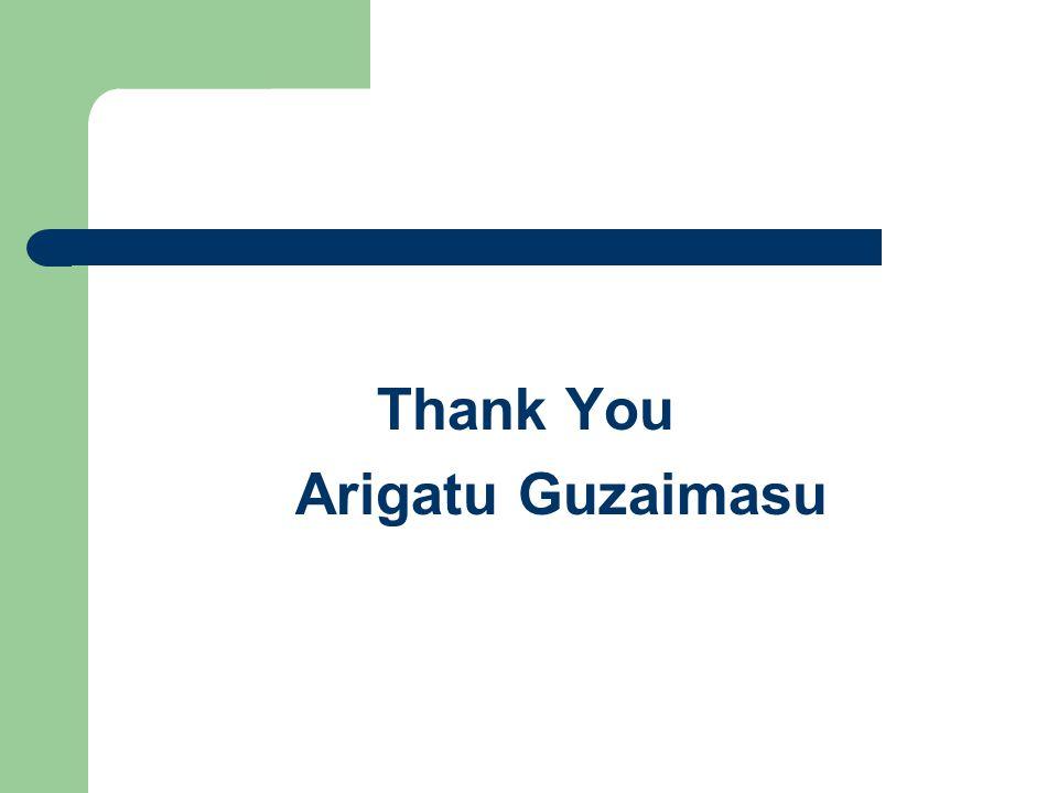 Thank You Arigatu Guzaimasu