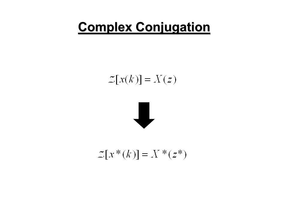 Complex Conjugation