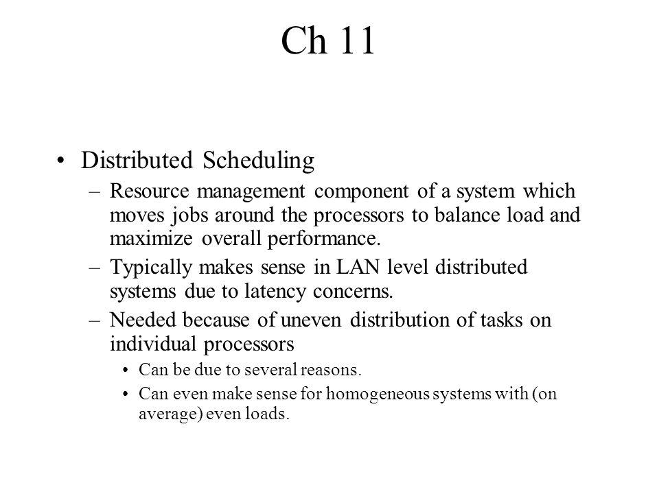 Case Studies V System –Measure system parameters and broadcast.