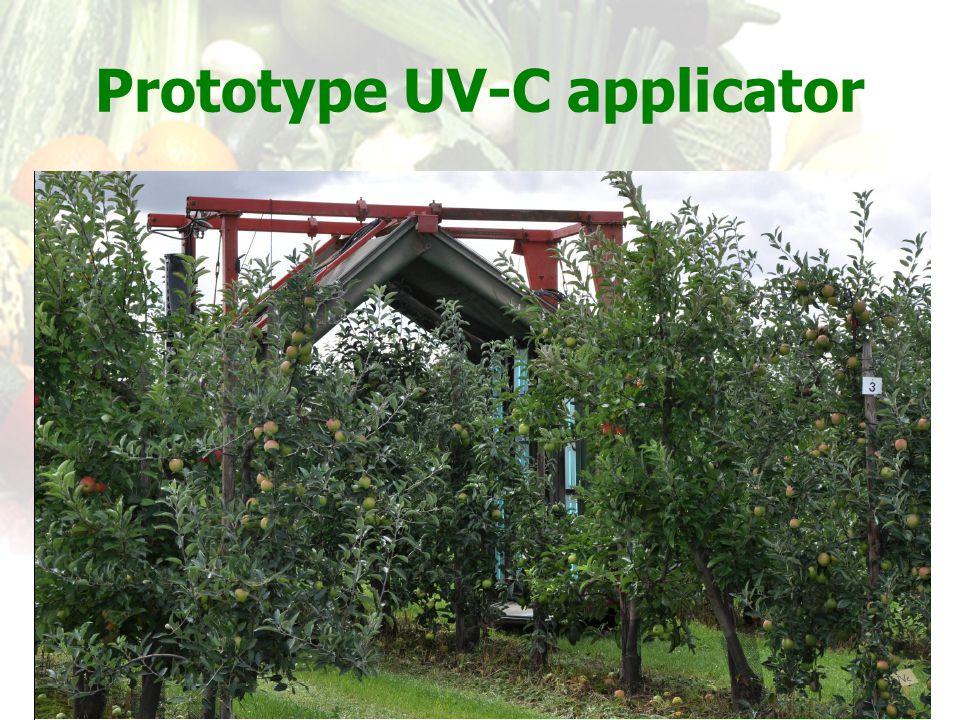 Prototype UV-C applicator