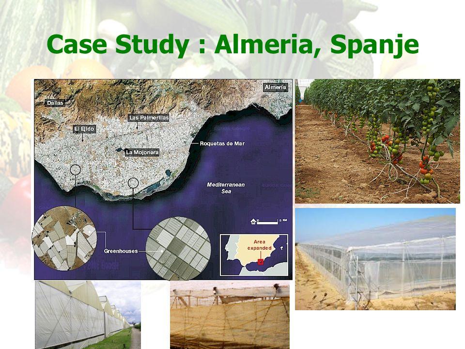 Case Study : Almeria, Spanje