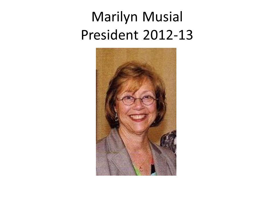 Marilyn Musial President 2012-13