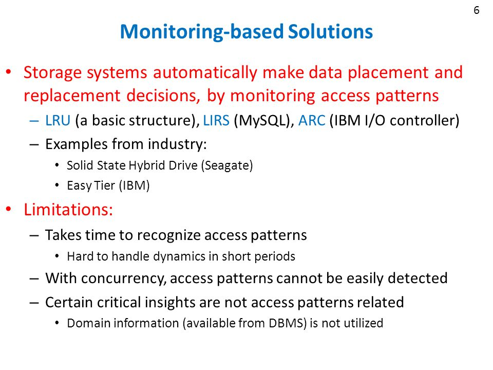 17 Caching Priorities as QoS Policies Priorities are enumerated – E.g.