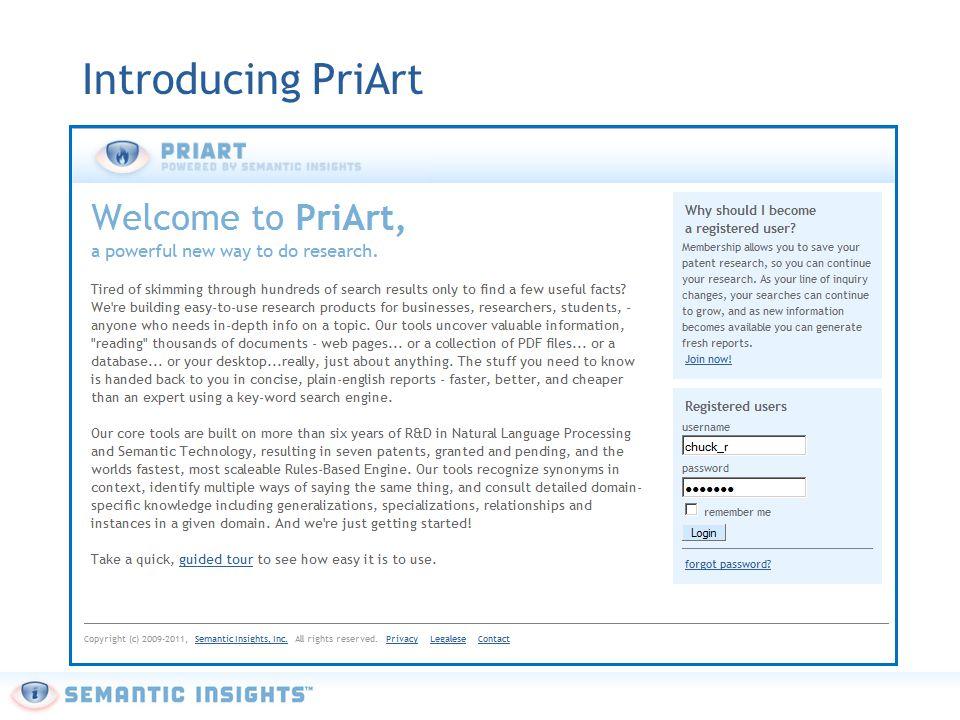 Introducing PriArt