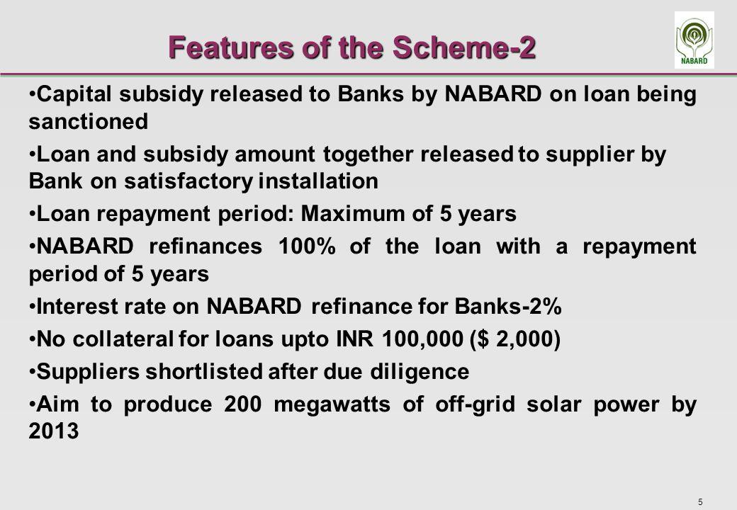 6 Progress of the Scheme .
