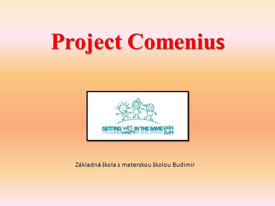 Project Comeniu s Základná škola s materskou školou Budimír