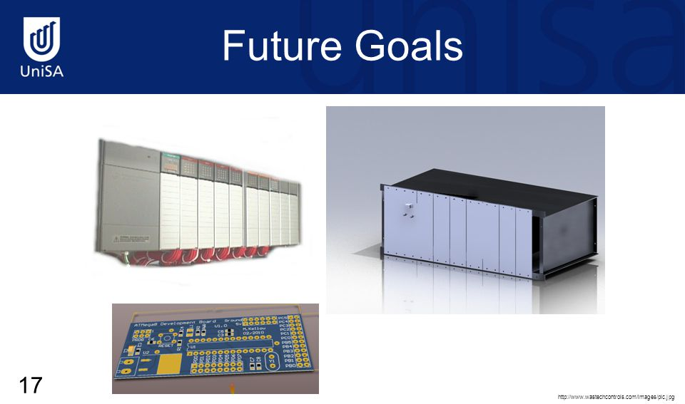 Future Goals http://www.wastechcontrols.com/images/plc.jpg 17