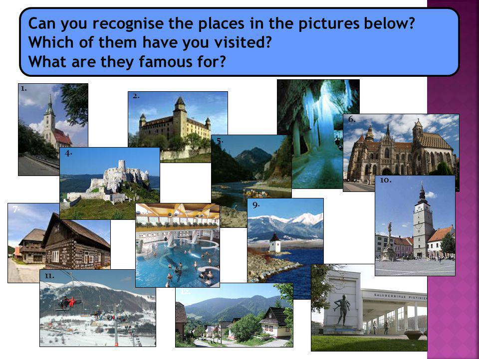 Can you recognise the places in the pictures below.