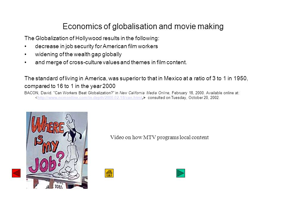 Movies as protest Life and Debt, a documentary by Stephanie Black, with a commentary written by Jamaica Kincaid, looks at the effect of the International Monetary Fund on the economy of Jamaica.