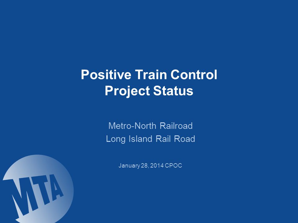 Positive Train Control Benefits On October 16, 2008, Congress passed the Rail Safety Improvement Act of 2008 requiring implementation of PTC by Dec.