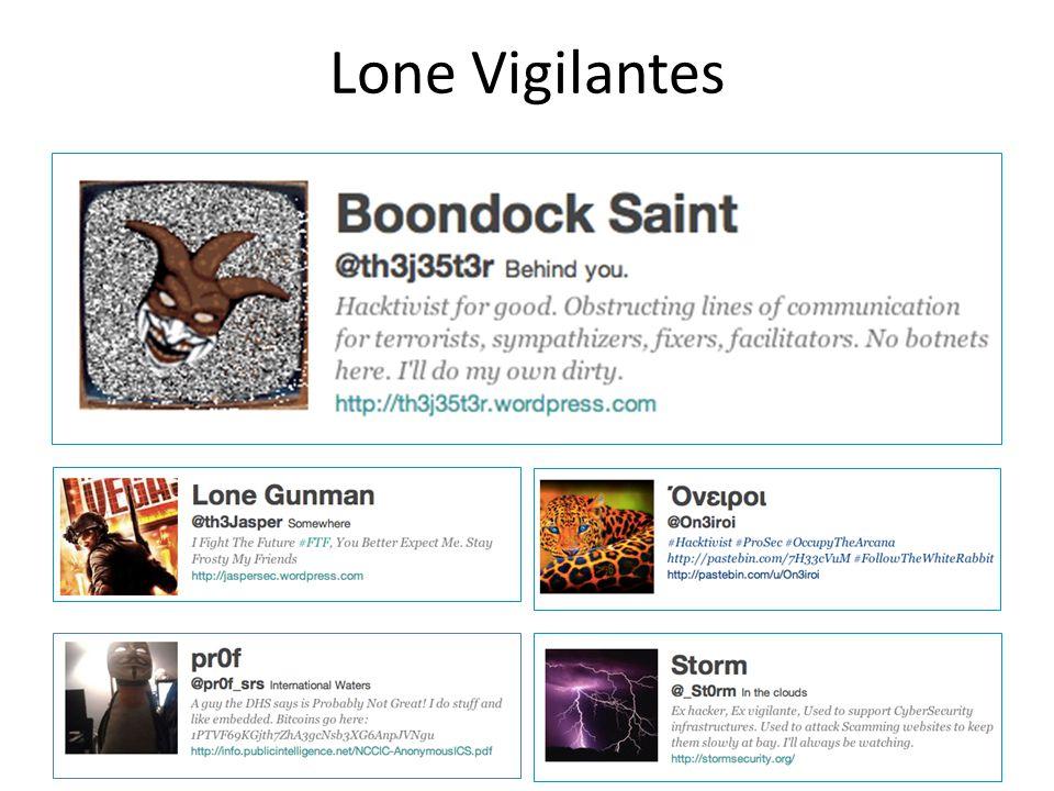 Lone Vigilantes