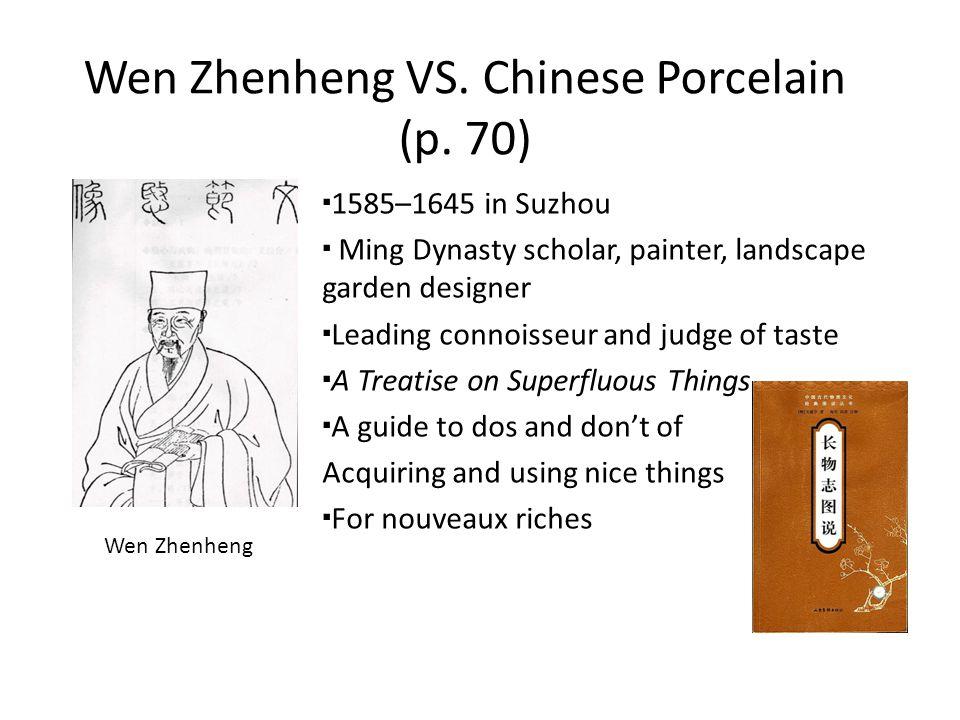 Wen Zhenheng VS. Chinese Porcelain (p.