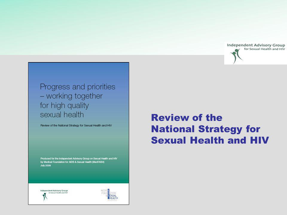 Review of the National Strategy for Sexual Health and HIV