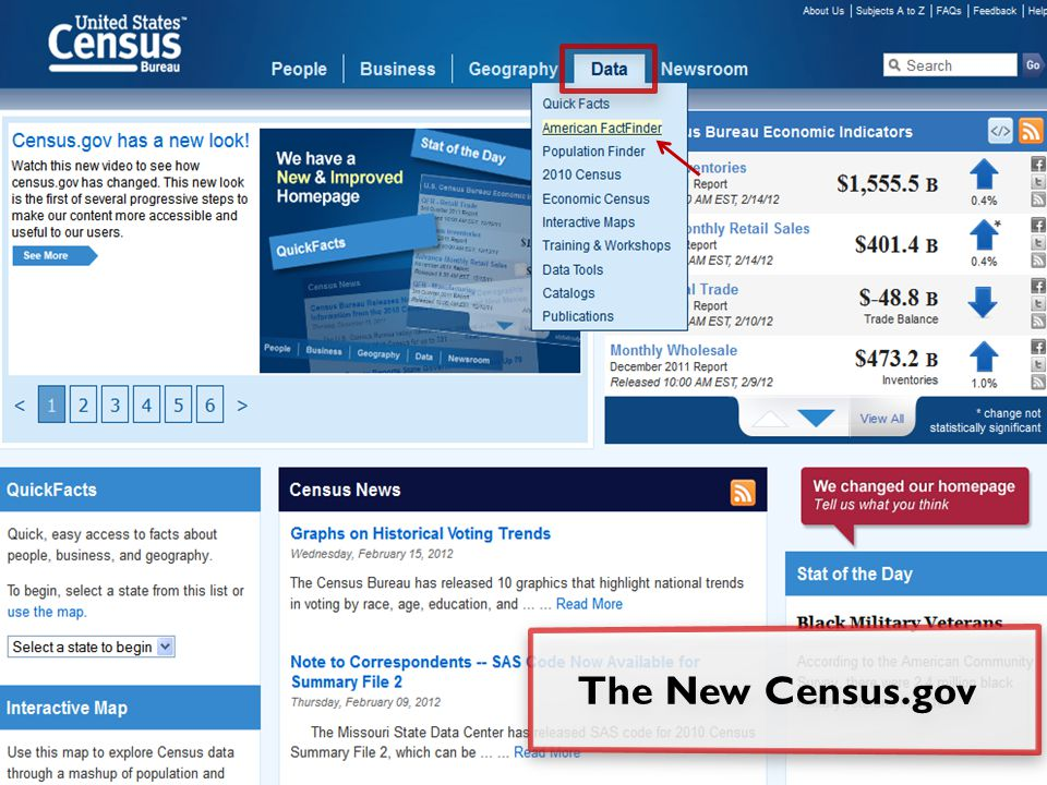 The New Census.gov