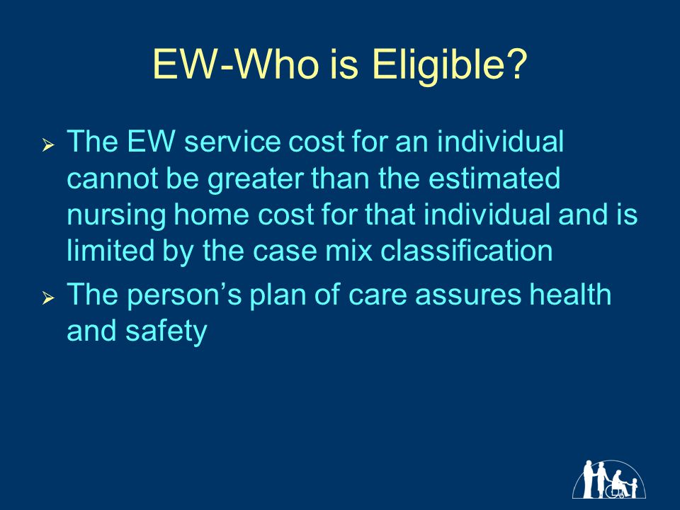 EW-Who is Eligible.