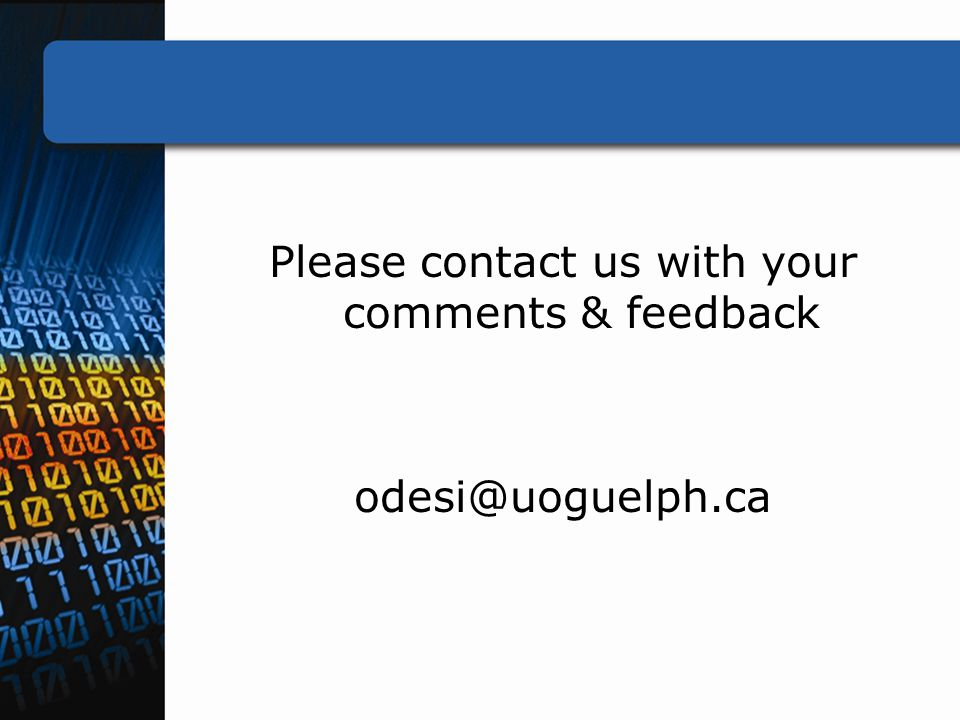 Please contact us with your comments & feedback odesi@uoguelph.ca
