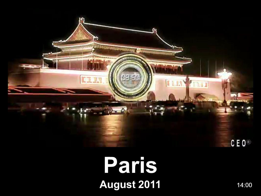 Paris August 2011 14:00
