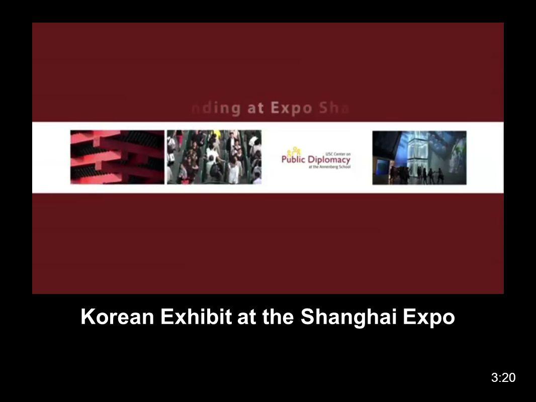 Korean Exhibit at the Shanghai Expo 3:20