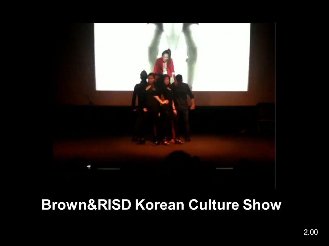 Brown&RISD Korean Culture Show 2:00