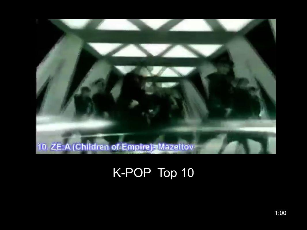 K-POP Top 10 1:00