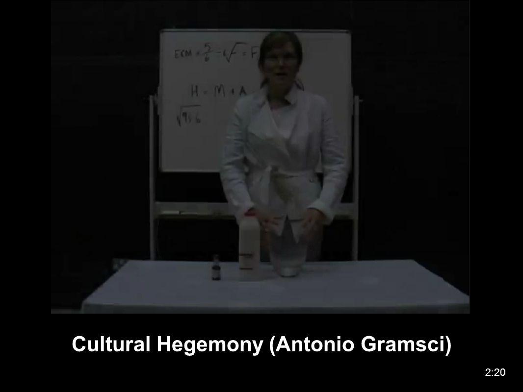Cultural Hegemony (Antonio Gramsci) 2:20