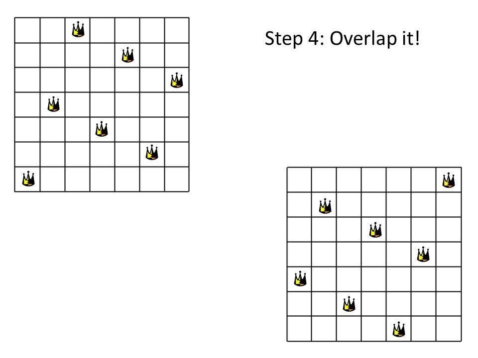 Step 4: Overlap it!