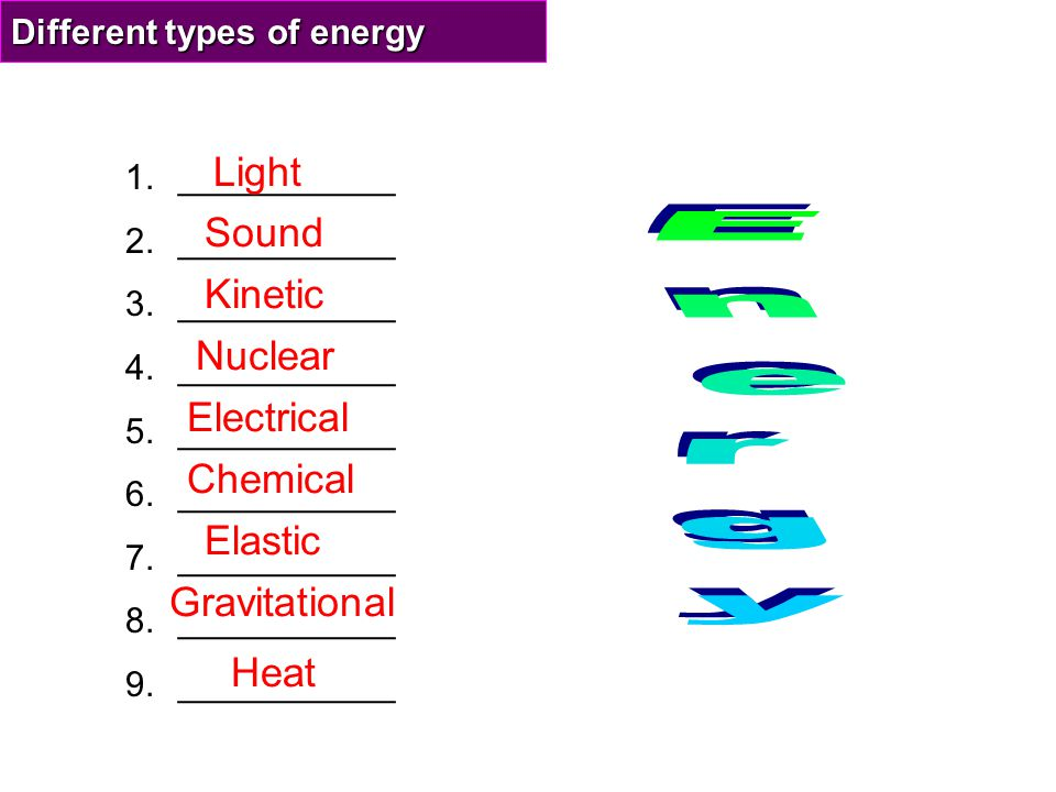Gravitational energy Any object in a gravitational field has gravitational potential energy due to its position in that field.