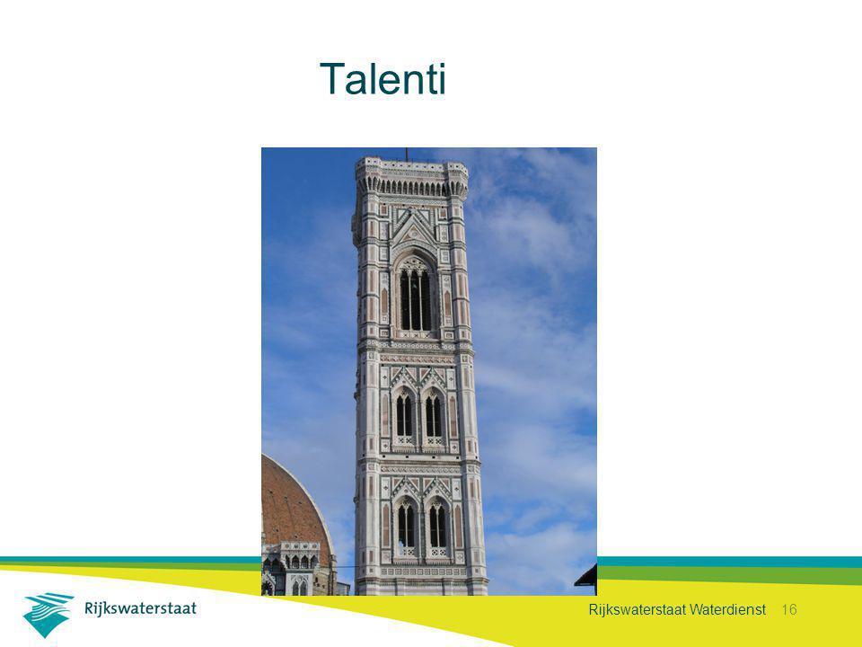 Rijkswaterstaat Waterdienst 16 Talenti