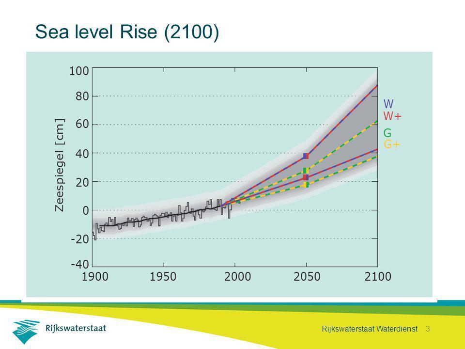 Rijkswaterstaat Waterdienst 3 Sea level Rise (2100)