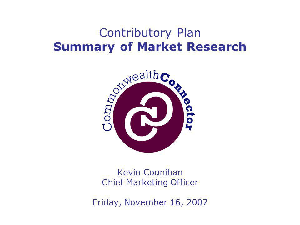 2 Contributory Plan Proposed Product Summary & Research Results  Presentation Objectives  Contrast Status Quo ( Employer's Plan ) to Proposed Benchmark Plan ( Employer's Plan + Choice )  Summarize Research Findings