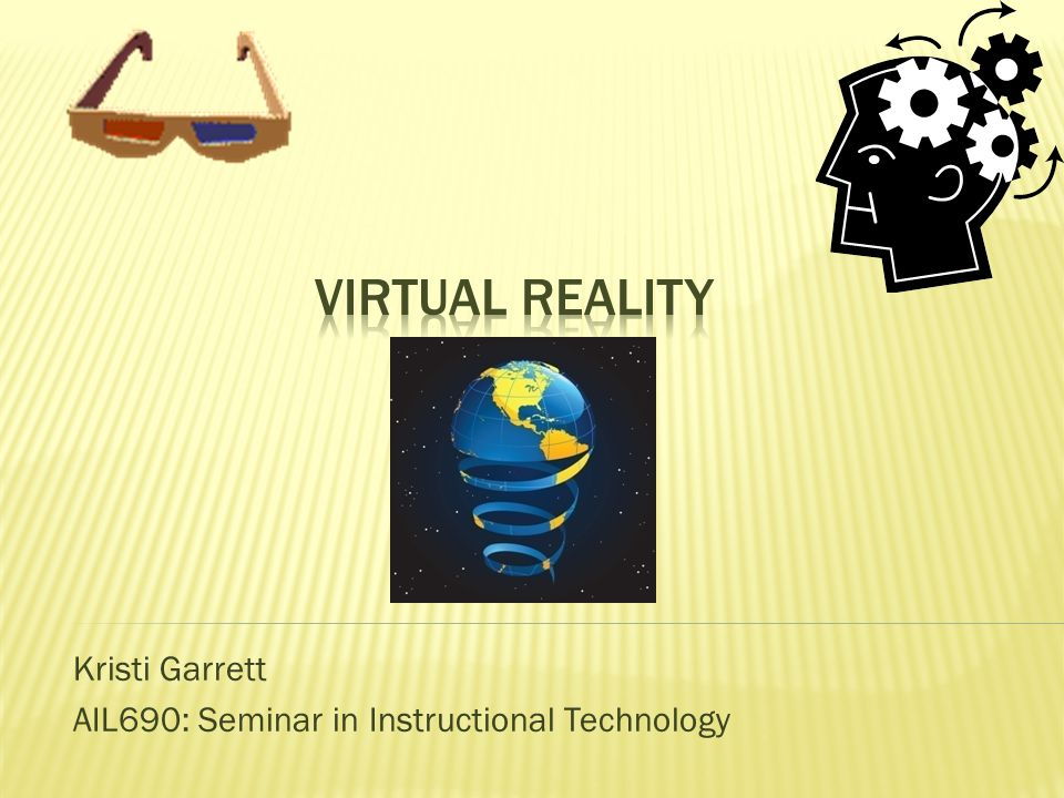  What is Virtual Reality.