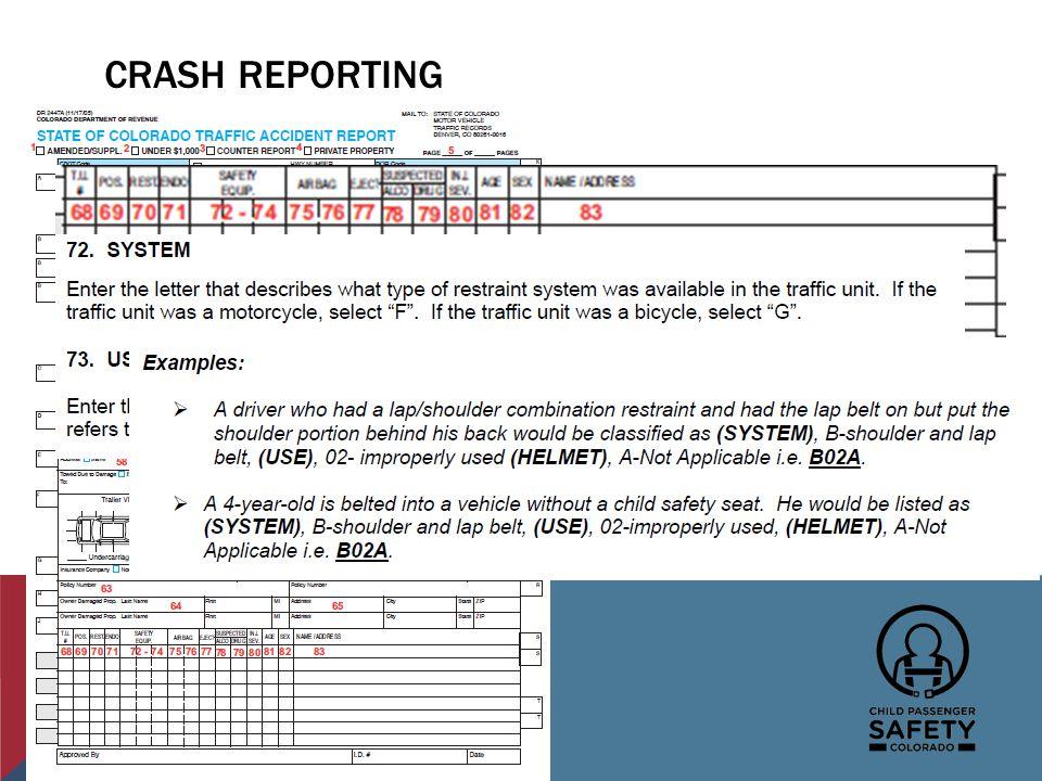 CRASH REPORTING