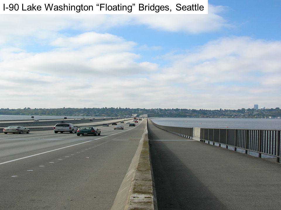 I-90 I-90 Lake Washington Floating Bridges, Seattle