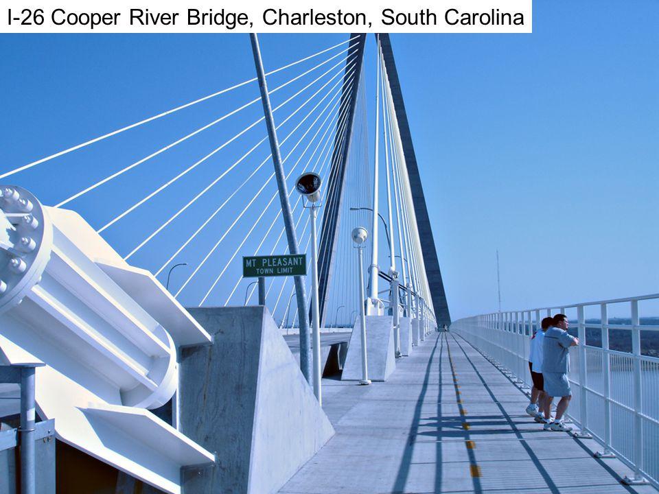 Charleston I-26 Cooper River Bridge, Charleston, South Carolina