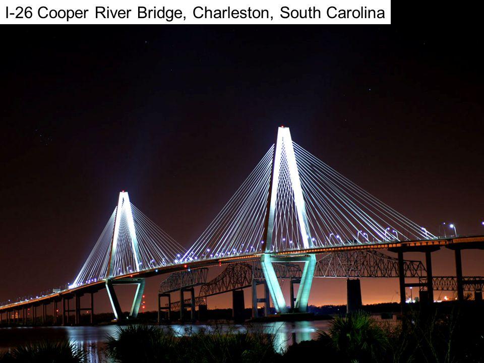 Charleson I-26 Cooper River Bridge, Charleston, South Carolina