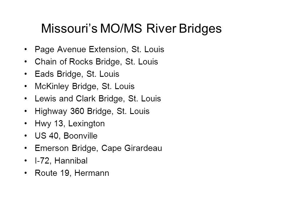 Missouri's MO/MS River Bridges Page Avenue Extension, St.