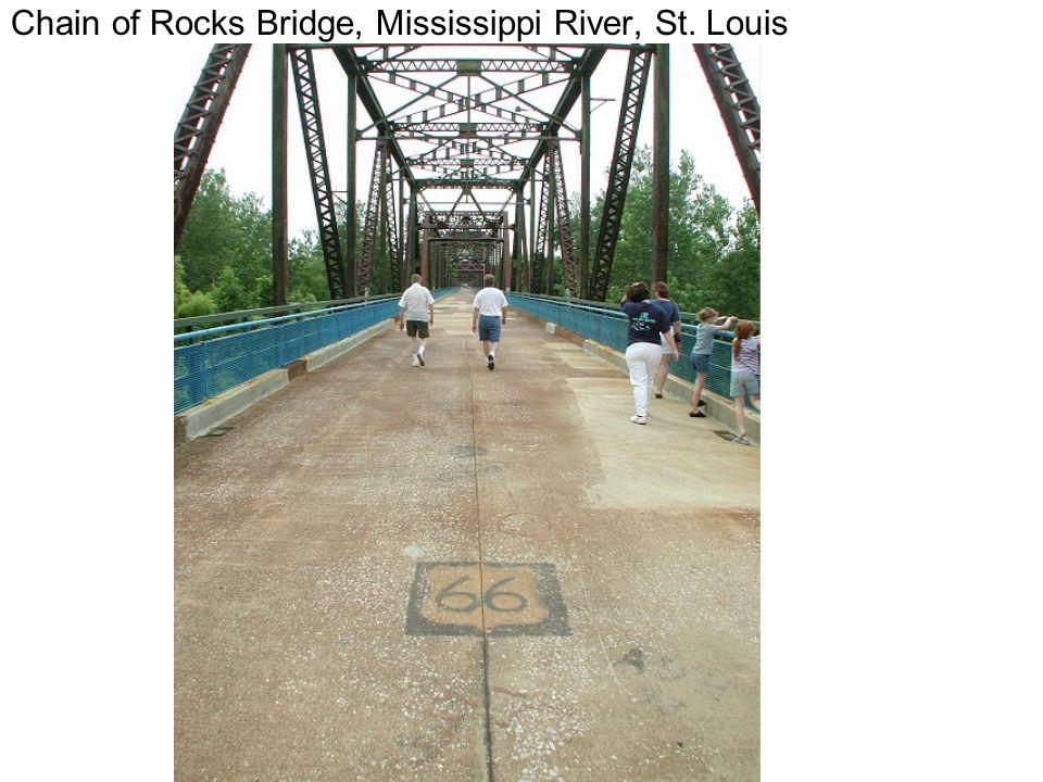 Chain of Rocks Bridge, Mississippi River, St. Louis
